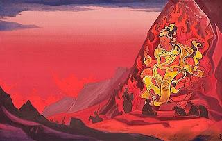 Pintura de Nicholas Roerich