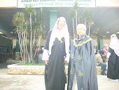 H.sahibek al awwalu dan Hj.siti aminah