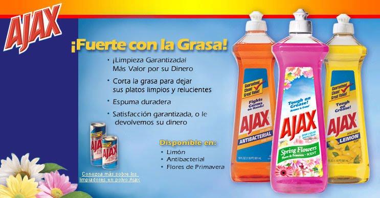 Andrea mayo 2010 for Anuncios de productos de limpieza