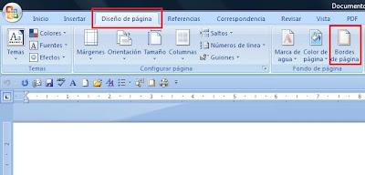Agregar Bordes a Página en Word 2007 | InternetSegunYo