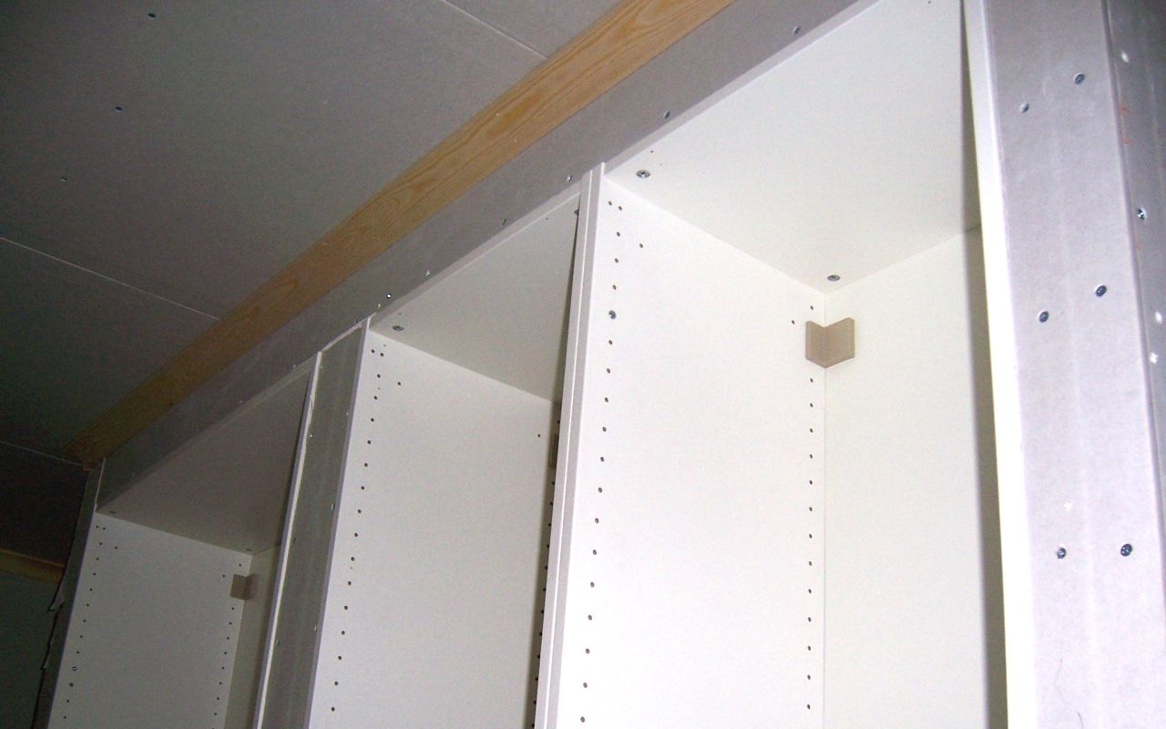 Ikea Pax R Ckwand villa rosenbo ikea garderoberna är inbyggda nu