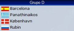 Grupo D Champions League