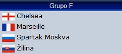 Grupo F Champions League