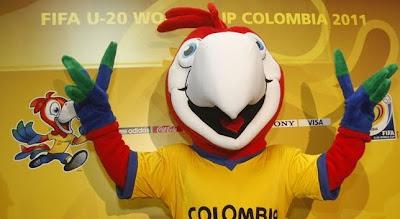 Mascota Mundial Sub 20 Colombia 2011