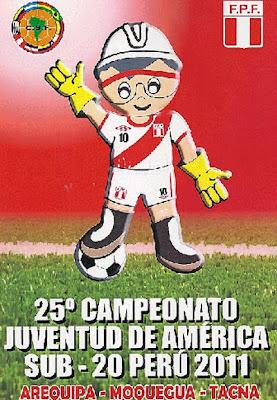 Mascota campeonato Sudamericano Sub 20 Perú 2011
