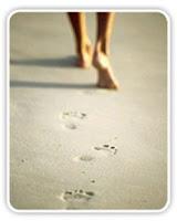 caminar playa