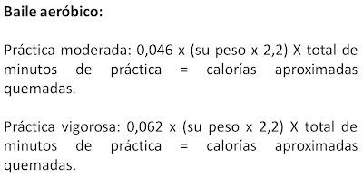calorias aerobicos
