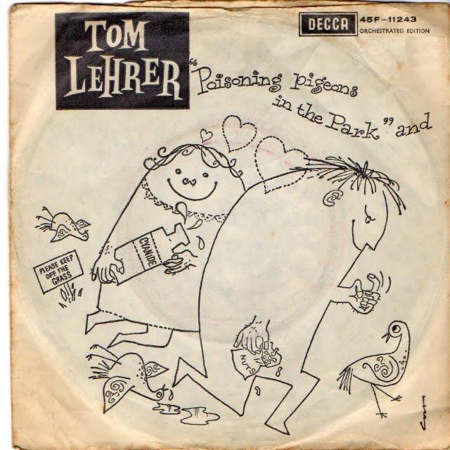 Tom Lehrer:Poisoning Pigeons In The Park Lyrics ...
