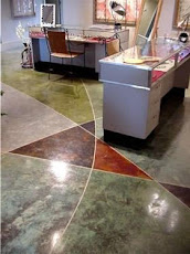 Stained Concrete In Office