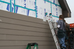 Hardie Board Siding Installation