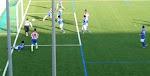 Argemí marca el 1-0 al Olván