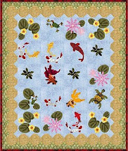 Quilt A Long summer pond
