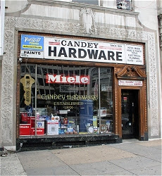 Candey Hardware in Dupont Circle.