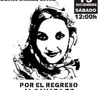 MANIFESTACIÓN  MADRID POR EL REGRESO AL SAHARA DE AMINETU HAIDAR