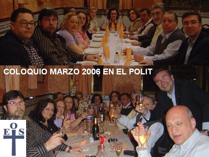 COLOQUIO DE EOS EN EL POLIT EN MARZO 2006