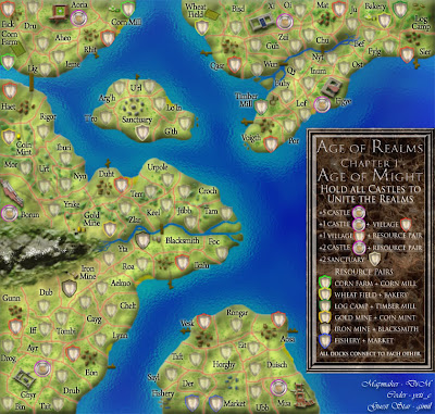 Age of Realms Map