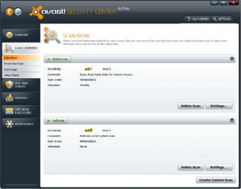 how to use avast bank mode