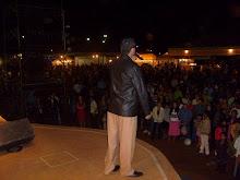 Cantando no Lago do Sol Poente em Quirinópolis - Go