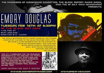 Oakland 100 fundraiser at The Black Dot