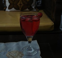 strawberry punch drink recipe pic