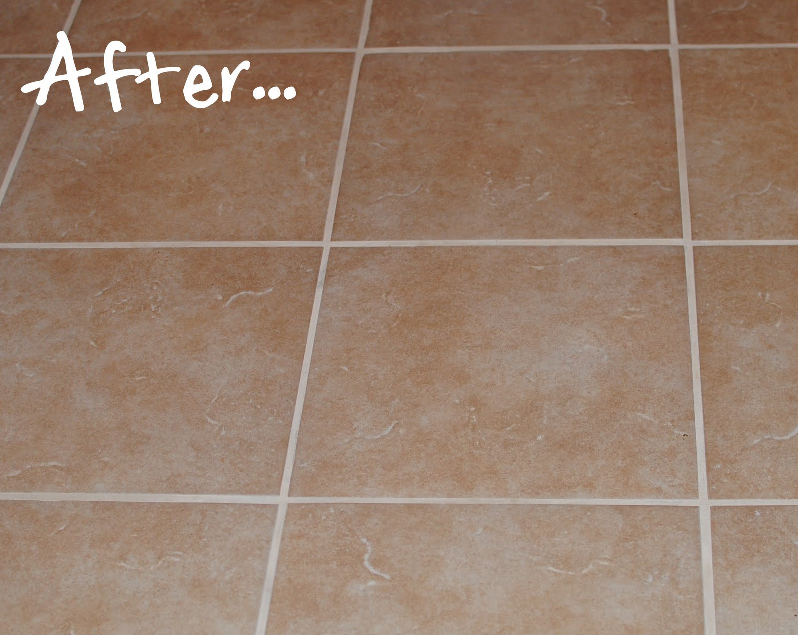 How to redo grout in tiled floor
