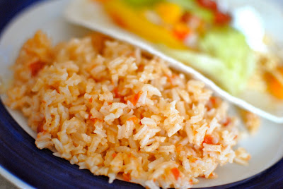 Mexican rice is a great side dish for tacos, fajitas or enchiladas.