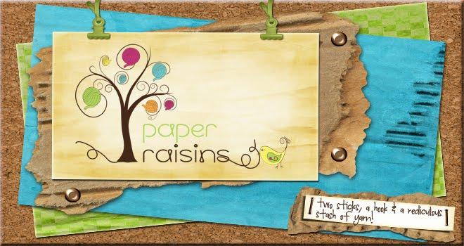 Paper Raisins