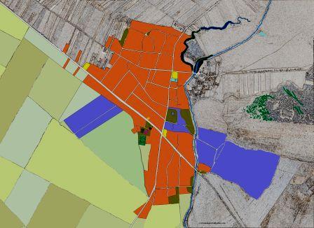 Planul comunei Rogova