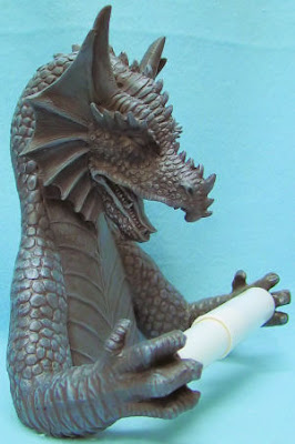 FIERCE MYTHICAL EVIL GOTHIC DRAGON TOILET PAPER HOL
