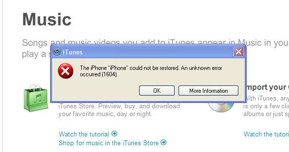 Itunes restore file location windows 7