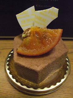 北堀江ル・ピノーのショコラ系のケーキ