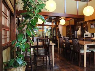 はまもと荘の食堂