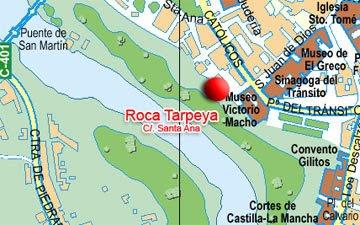 Misterio secreto la roca tarpeya for Roca toledo
