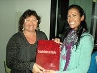 Isabel, la ganadora de la 7ª Edición, le cede su premio a Anabel, 2ª clasificada
