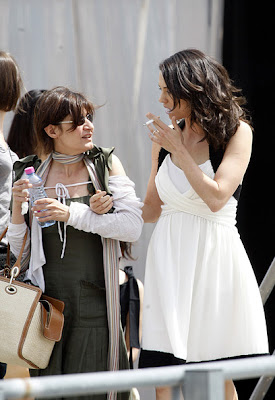 Asia Argento is seen smoking at Cannes