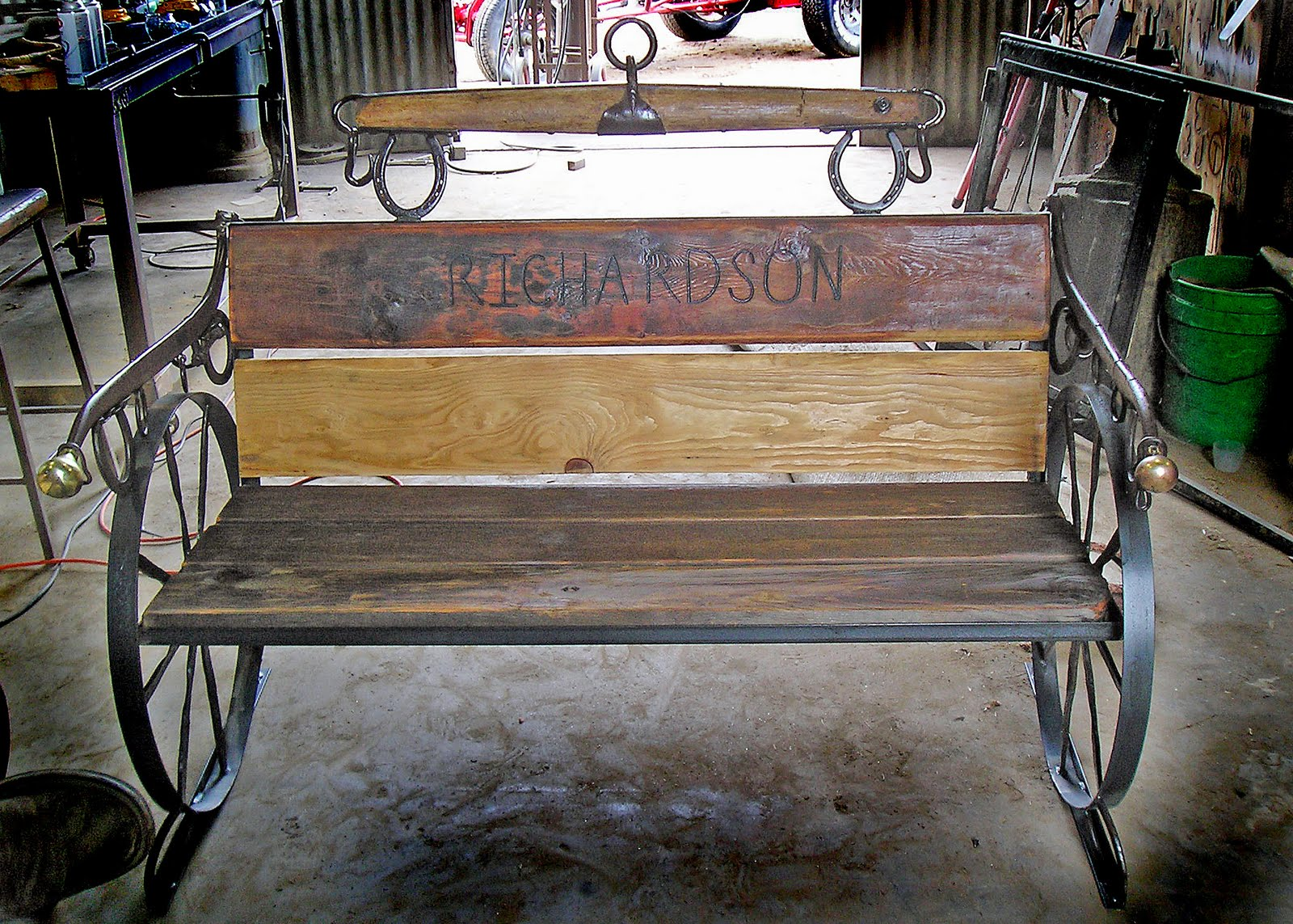 bench wheel rustic youtube desi products watch patio best wood wagon wooden choice garden