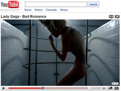 lady gaga nude videos