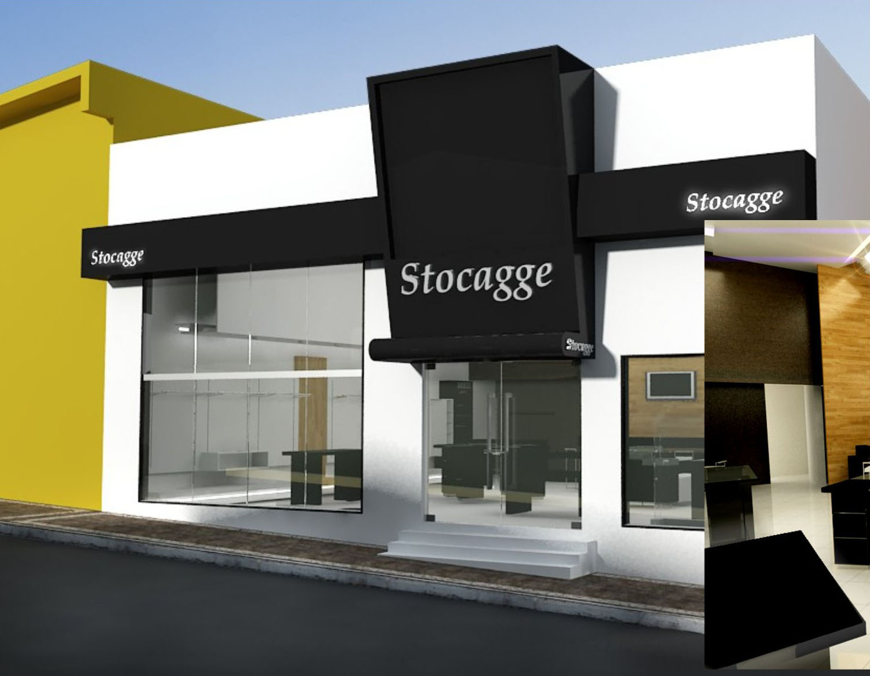 Id ias e projetos fachada for Fachadas de almacenes modernos