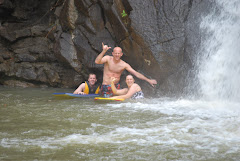 Swimming the Falls