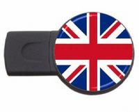 UK country symbol usb flash drive