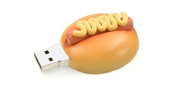 hot dog usb flash drive