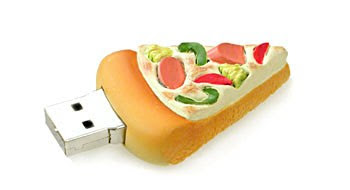 pizza usb flash drive