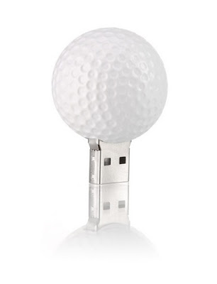 Golfball USB drive