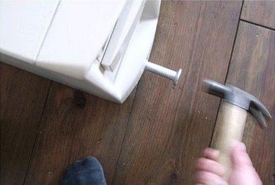 Nail usb thumbdrive