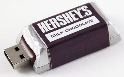 Chocolate USB flash drive