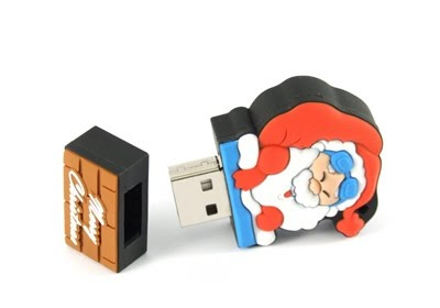 Santa USB flash drive