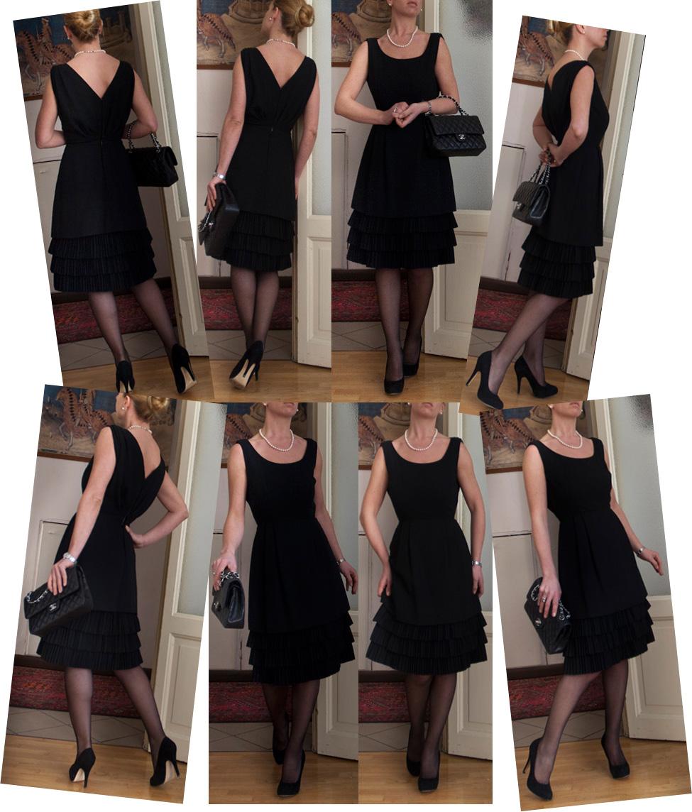 Удлинить платье своими руками фото