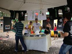 Módulo da Pastoral na 21ª Festa do Milho em Jaci - Ano 2010