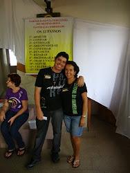 casal coordenadores da pastoral da sobriedade diocesana de São José Rio Preto - SP