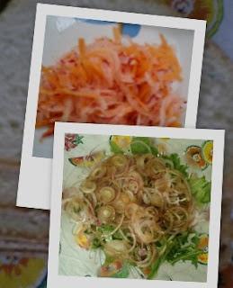 cozinha, salada, saúde,